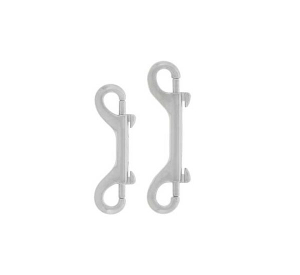 stainless steel double ended bolt snaps