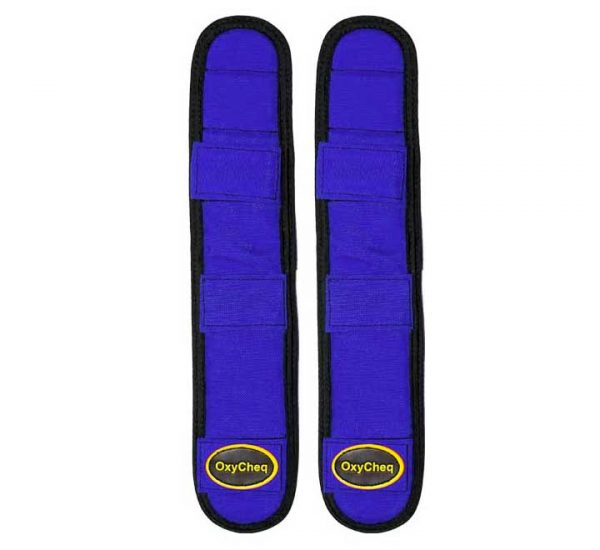 OxyCheq Removable Shoulder Harness Pads Colored