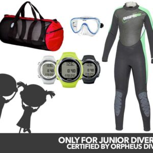New Orpheus Junior Open Water Diver Package