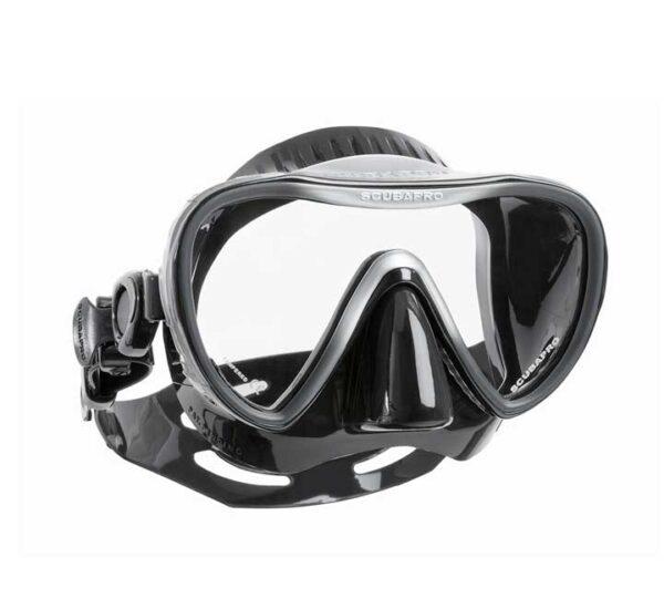 scubapro SYNERGY 2 TRUFIT all black